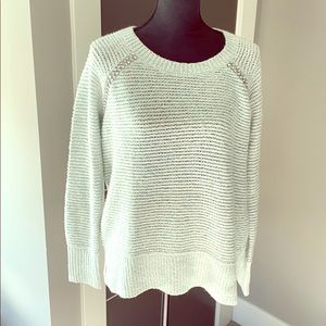 Anthropologie sleeping on snow rhinestone sweater